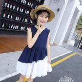 女童裙子夏季洋氣兒童連衣裙中大童小女孩公主裙夏裝新款韓版『夢娜麗莎精品館』