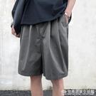 休閒短褲男寬鬆外穿ins潮牌夏季薄款褲子韓版潮流五分褲百搭中褲完美居家