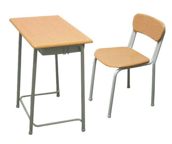 【 IS空間美學】固定式上課桌椅(整組)