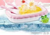 炒冰機 炒酸奶機家用小型炒冰機迷你沙冰水果汁冰淇淋兒童炒冰機器炒冰盤 晶彩生活