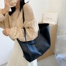 大容量包包女新款潮網紅托特包百搭ins單肩手提大包購物袋包