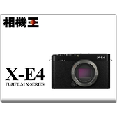 Fujifilm X-E4 Body 黑色〔單機身〕XE4 公司貨