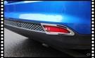 【車王小舖】福特 Ford Focus MK3 4D 5D 四門 五門 後霧燈框 霧燈框 電鍍