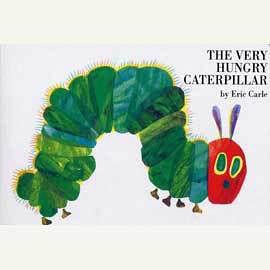 【麥克書店】VERY HUNGRY CATERPILAR/硬頁書‧艾瑞卡爾幼兒成長系列‧