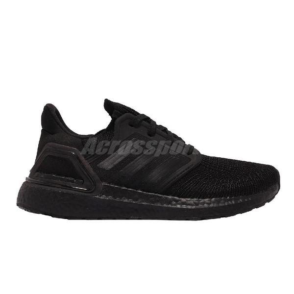 【海外限定】adidas 慢跑鞋 UltraBOOST 20 W 全黑 愛迪達 女鞋 路跑 運動鞋【ACS】 FU8498