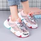 女童運動鞋2020秋季新款韓版透氣舒適小女孩中大兒童軟底老爹鞋潮 Cocoa