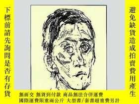 二手書博民逛書店Kokoschka罕見Portrait And Figure Drawings (dover Art Librar