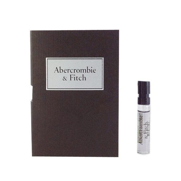 A&F Abercrombie&Fitch 同名男性淡香水 針管 2ml【UR8D】