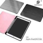 【愛瘋潮】DUX DUCIS Apple iPad(2017/2018) DOMO 筆槽防摔皮套
