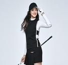 高爾夫 高爾夫女裝馬甲背心 款百搭保暖高爾夫馬甲女上衣黑色修
