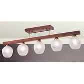 燈具燈飾【豪亮燈飾】5燈半吸頂燈(V8-3081) ~ 美術燈吊燈吸頂燈壁燈吊扇燈工業風燈泡水晶燈