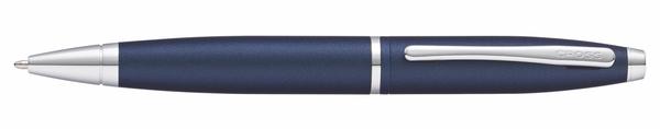 高仕CROSS-凱樂系列-原子筆-啞金屬午夜藍