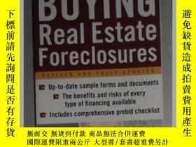 二手書博民逛書店英文原版罕見Buying Real Eatate Foreclo