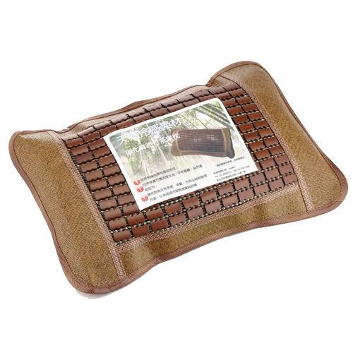 碳化竹面茶葉枕頭(52*32*12cm)【愛買】