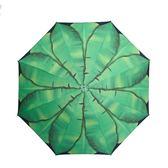 晴雨傘女摺疊黑膠小清新簡約森繫晴雨兩用女神防曬防紫外線遮陽傘
