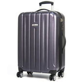 eminent 雅仕 -23吋輕量PC拉絲金屬旅行箱藍