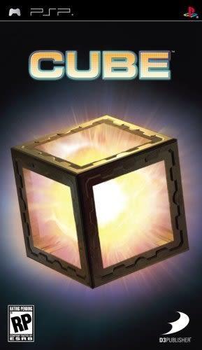 PSP Cube 方塊(美版代購)