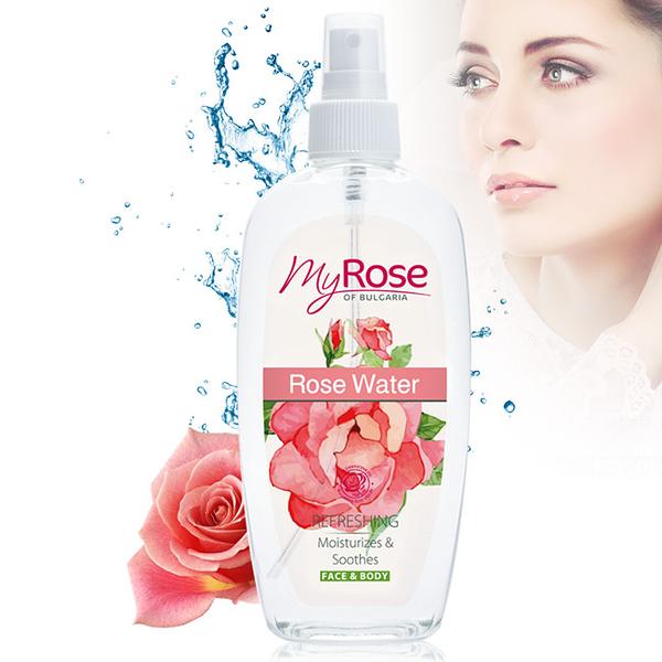 保加利亞Myrose大馬士革玫瑰純露保濕調理噴霧220ml