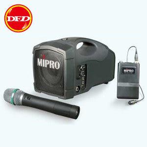 MIPRO 嘉強 MA-101 VHF 高效率攜帶式無線喊話器(新寬頻) 可搭配無線麥克風or領夾