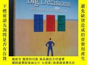二手書博民逛書店The罕見little book of BIG DECISION