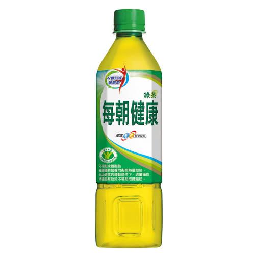 御茶園每朝健康綠茶650ml*4入【愛買】