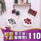B502 貓掌禮物聖誕襪 禮物襪 掛飾 裝飾 聖誕禮物 交換禮物 聖誕節 【熊大碗福利社】