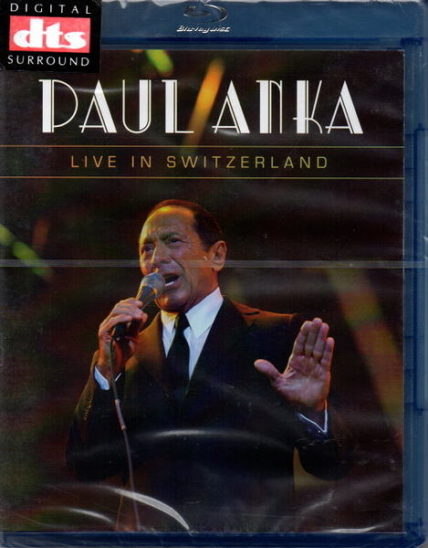【停看聽音響唱片】【BD】DAUL ANKA:LIVE IN SWITZERLAND