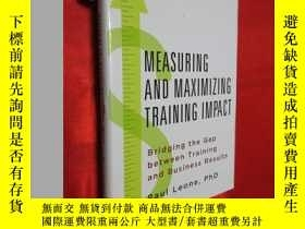 二手書博民逛書店Measuring罕見and Maximizing Traini