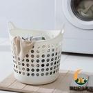 浴室臟衣籃塑料洗衣籃放臟衣服收納筐家用收納裝衣物的籃子臟衣簍【創世紀生活館】