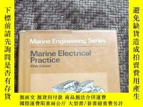 二手書博民逛書店Marine罕見Electrical Practice Fift