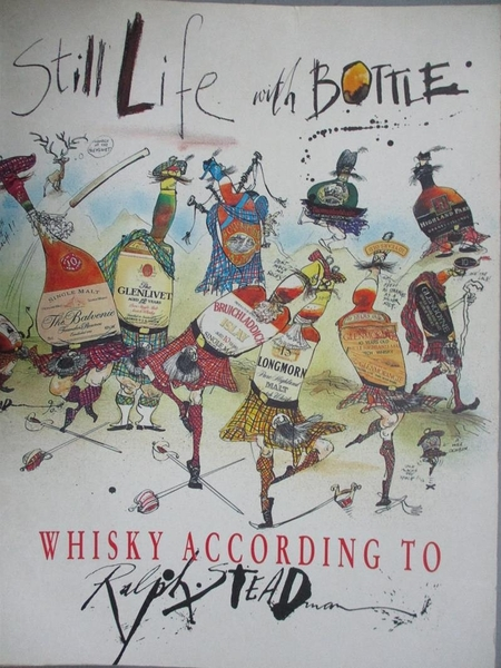 【書寶二手書T7/餐飲_E1D】Still life with bottle : whisky according to