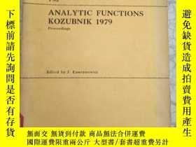 二手書博民逛書店ANALYTIC罕見FUNCTIONS KOZUBNIK1979