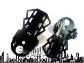 山地單車折疊腳踏板腳蹬自行車踏腳板火箭筒子后置座椅腳蹬子新品【潮咖地帶】