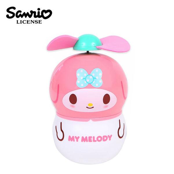 【日本正版】美樂蒂 花生造型 隨身扇 手持風扇 風扇 小風扇 My Melody 三麗鷗 Sanrio - 480014