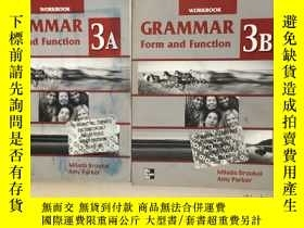 二手書博民逛書店WORKBOOK罕見GRAMMAR Form and Funct