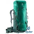 【德國 deuter】AIRCONTACT LITE 拔熱式透氣背包 65+10L『綠/深綠』4340318 大背包 背包客 渡假打工