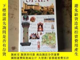 二手書博民逛書店spain(西班牙罕見英文原版)5375 DK ISBN:978