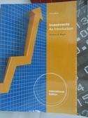 【書寶二手書T1/大學商學_DMV】Investments: An Introduction_MAYO HERBERT B.