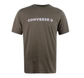 CONVERSE系列 男款咖啡色 運動短袖 -NO.10017455-A10