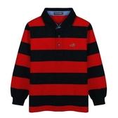 『小鱷魚童裝』條紋POLO衫(08號~18號)534102