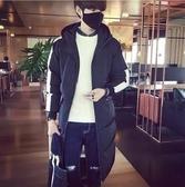 冬季男士中長款加厚羽絨服青學生潮流情侶韓版修身大碼冬裝外套 ciyo黛雅