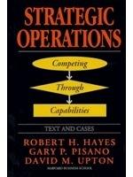 二手書博民逛書店 《Strategic operations : competing through capabilities》 R2Y ISBN:0684823055│HAYES