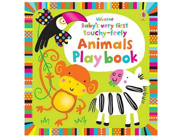 Baby's Very First Touchy-Feely Animals Play Book 寶貝的第一本觸摸操作書:動物篇