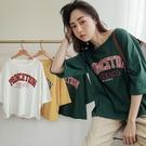MIUSTAR PRINCETION美式配色膠印棉質上衣(共3色)【NJ0868RR】預購