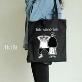 手提包 帆布包 手提袋 環保購物袋【DEA654-2】 BOBI  08/18