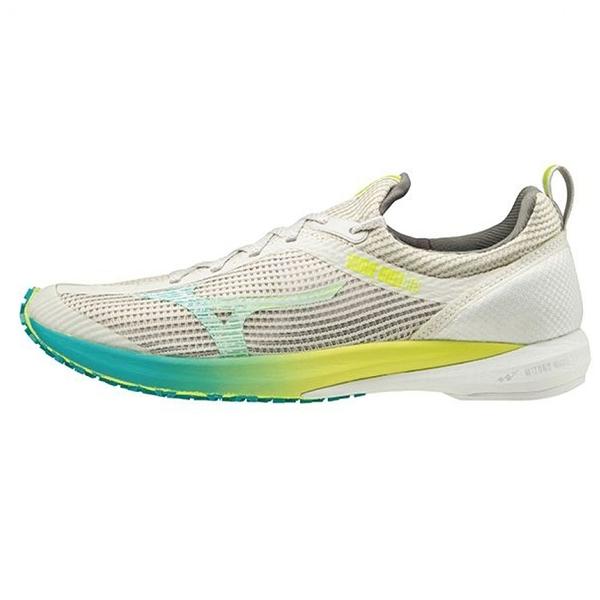MIZUNO WAVE DUEL 2 女鞋 慢跑 路跑 U4ic中底 G3高抓力 馬拉松 米【運動世界】U1GE206042