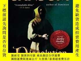 二手書博民逛書店罕見Dissolution-溶解Y436638 C. J. Sansom Penguin Books, 200