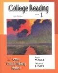 二手書博民逛書店《College Reading with the Active Critical Thinking Method: Book 1》 R2Y ISBN:0155066447