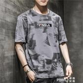 2020新款男士短袖T恤丅半袖體桖韓版潮流夏季男裝寬鬆上衣服 (pinkQ 時尚女裝)