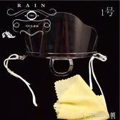 10只裝透明塑料口罩一次性食品口罩廚師口罩廚房餐飲專用口屏 安妮塔小舖